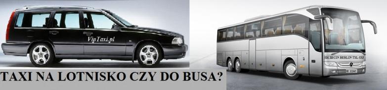 Taxi czy autobus do Berlina na lotnisko