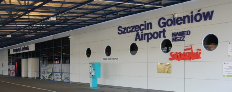Goleniow lotnisko przejazdy ze Szczecina