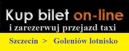 Goleniow transfery do Szczecina z lotniska w Goleniowe