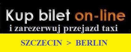 Szczecin Berlin taxi na lotnisko zarezerwuj i kup on line
