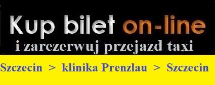 Przejazdy ze Szczecina do Kliniki w Prenzlau