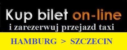 Hamburg lotnisko Szczecin taxi rezerwuj on line
