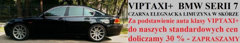 Transfery BMW 7 VipTaxi+ do Berlina ze Szczecina