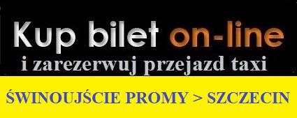 Przejazdy Swinoujście promy Szczecin taxi