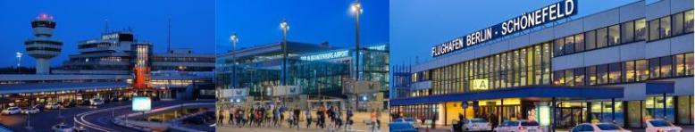 Berlin tegel lotnisko i airport Schonefeld transfery na lotnisko i przejazdy ze Szczecina